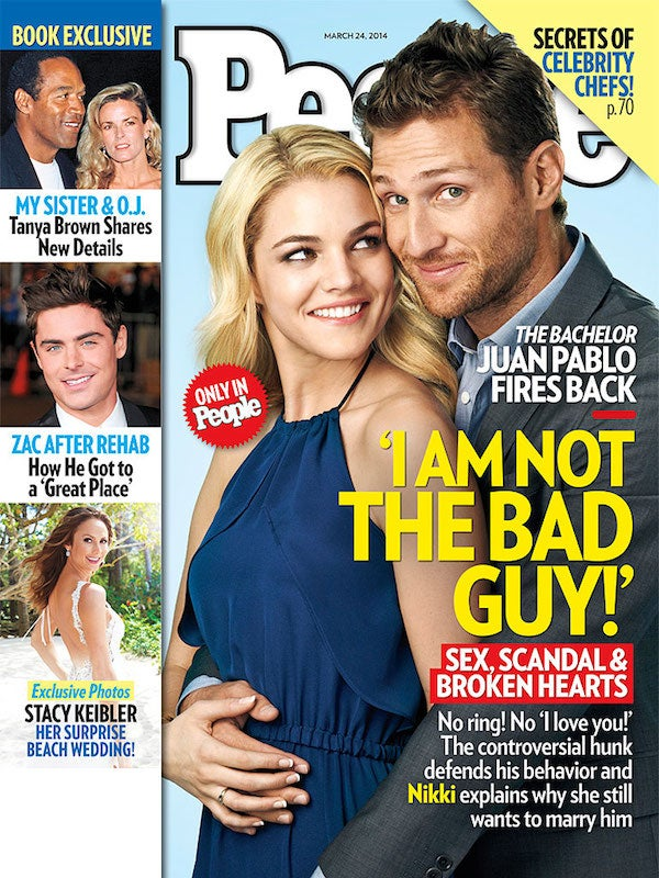 Juan Pablo Is Really Set on Sticking It to The Bachelor