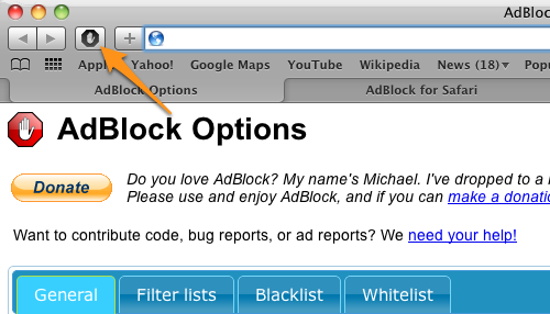 AdBlock for Safari Released, Includes All the Usual Customizable Goodness