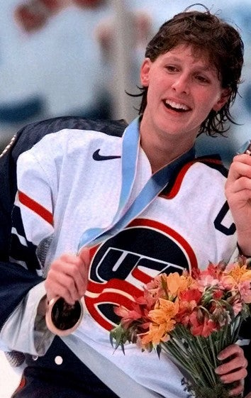 Women Admitted To Hockey Hall Of Fame