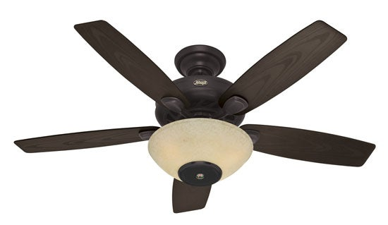 The Hunter Concert Breeze Ceiling Fan Has a Speaker In It