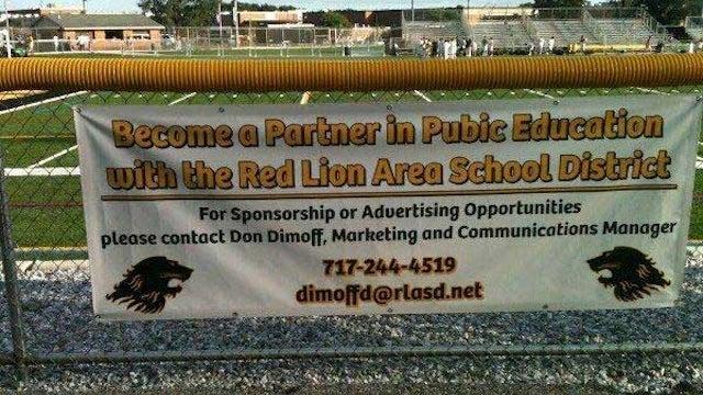 Banner At High School Football Stadium Has Regrettable Typo
