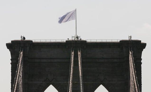 Manhattan DA Subpoenas Twitter Parody Account Over BK Bridge Flags