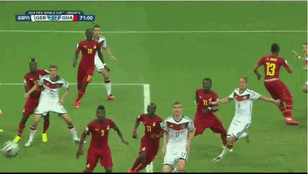 This Germany-Ghana Match Just Went Nutso