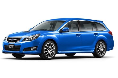 Subaru Legacy 2.5GT tS: No Subie For You!