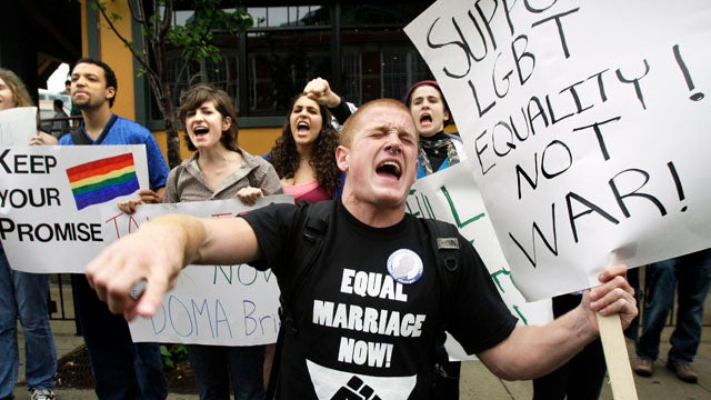 GOP Finds Money To Fight For Defense Of Marriage Act