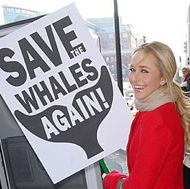 What Lurks Behind Hayden Panettiere's Campaign To Save The Whales