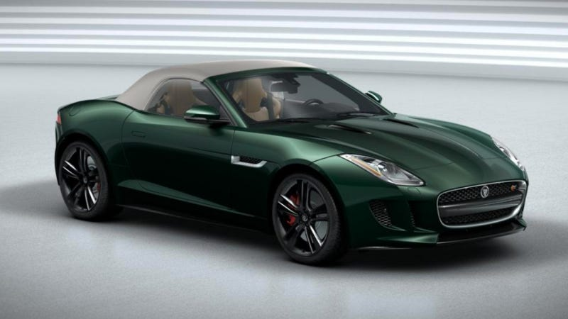Build Your Very Own Jaguar F-Type And Share It Here