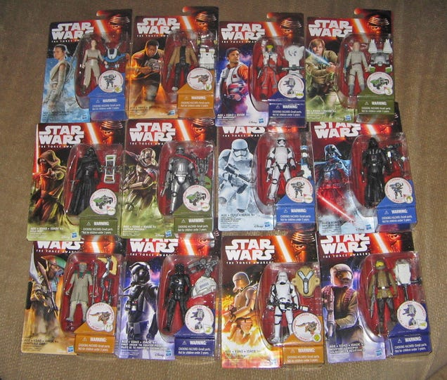 Walmart Just Sold this Guy a Mountain ofStar Wars: The Force Awakens Figures