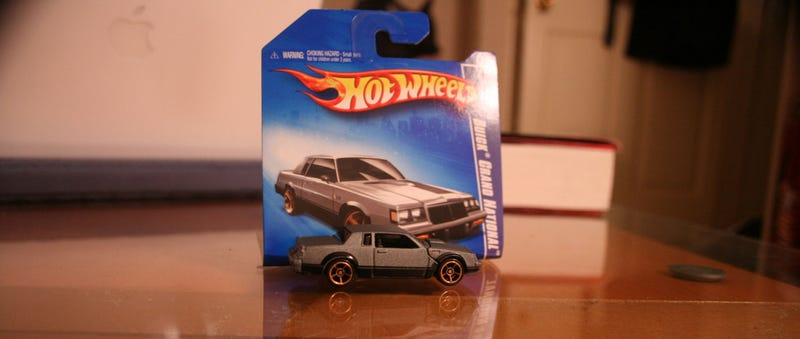 Buick Grand National Hot Wheels Pretty Rad