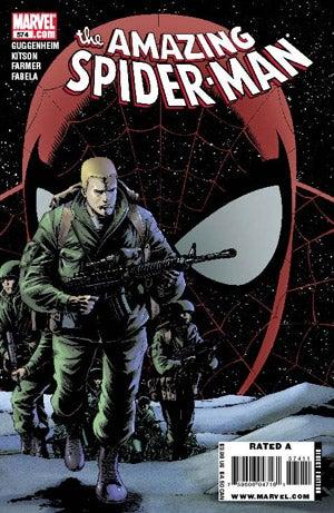 Spider-Man's Frenemy Goes To Iraq