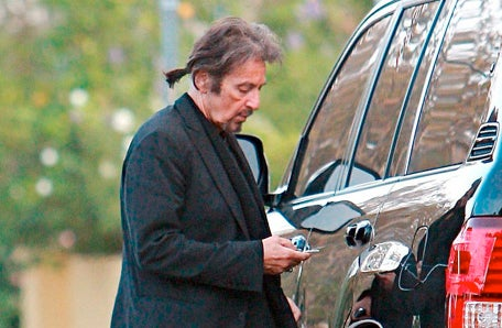 Al Pacino Drives A Lexus LX