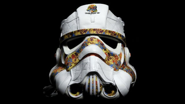 This Stormtrooper Helmet Is Made Completely Out of Sneakers