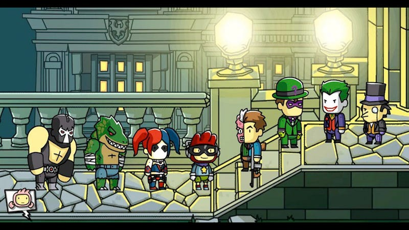 Scribblenauts Crosses Over to the DC Universe on September 24
