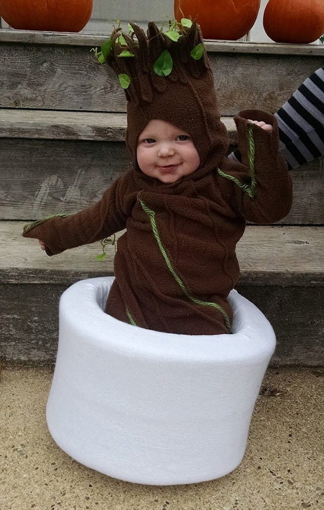 This Baby Dressed As Groot Is The Cutest Damn Thing In The Galaxy