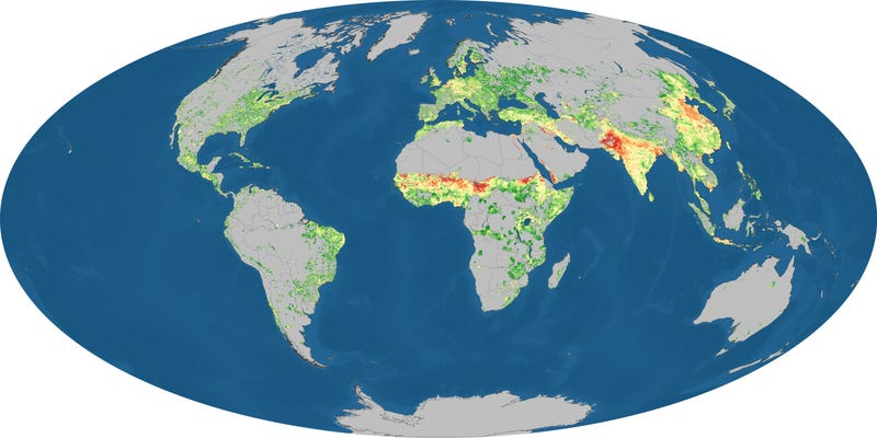 New map shows whether your region uses more carbon than it generates