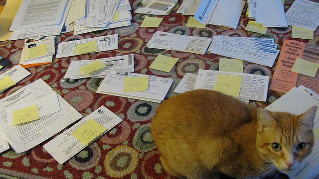 How To Better Organize Piles of Paperwork