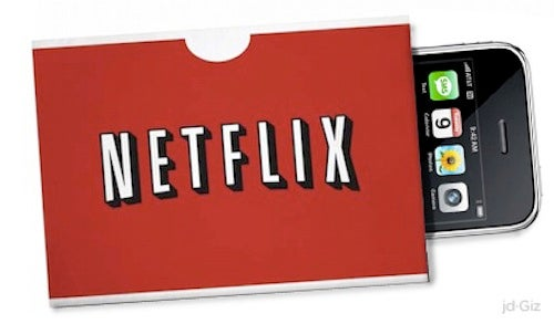 Netflix Coming to the iPhone Soon