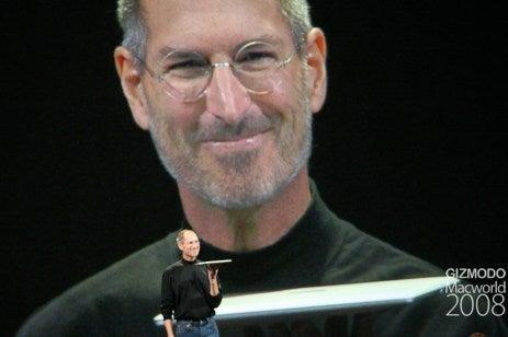Control freak Steve Jobs's chaotic Macworld no-show news