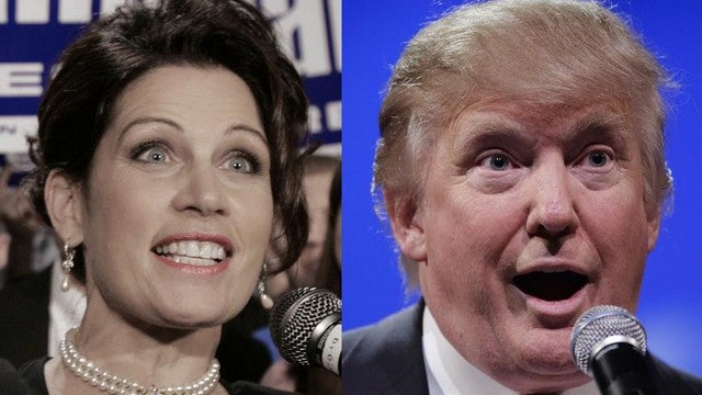 Nearly 200,000 People Care Enough To Listen To Donald Trump Talk At Michele Bachmann On The Phone