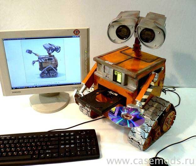 Wall-E Case Mod