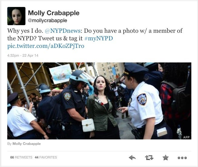 NYPD is reaching out to new friends on social media