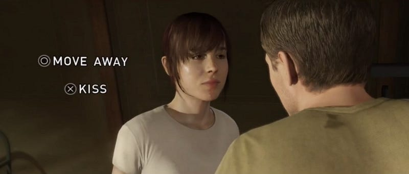 Everybody Wants To Kiss Beyond: Two Souls' Hunky Love Interest
