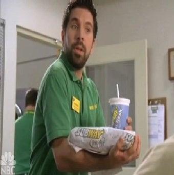 Desperate Chuck Fans in Futile Sandwich Frenzy