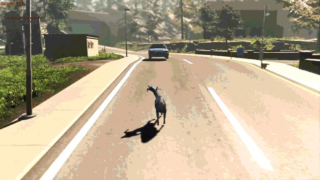 Goat Simulator 2014 Needs To Be A Real Thing