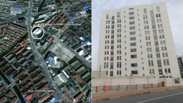 This Building Is Home to the Chinese Army Unit Hacking the US