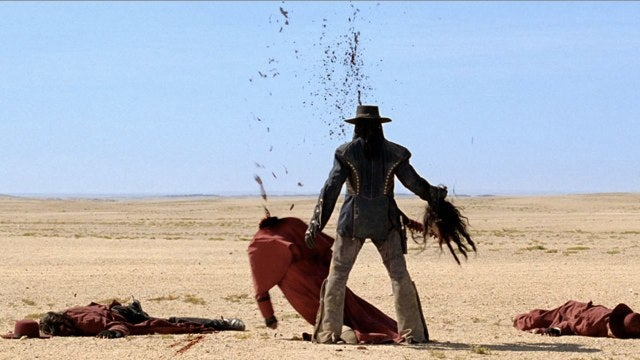 Oh my god this trailer for Wesley Snipes Zombie Western Gallowwalkers is ridiculous