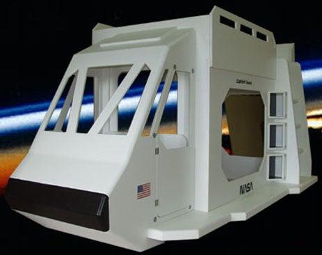 Space Ship Bunk Beds Make Childhood Dreams Lucid