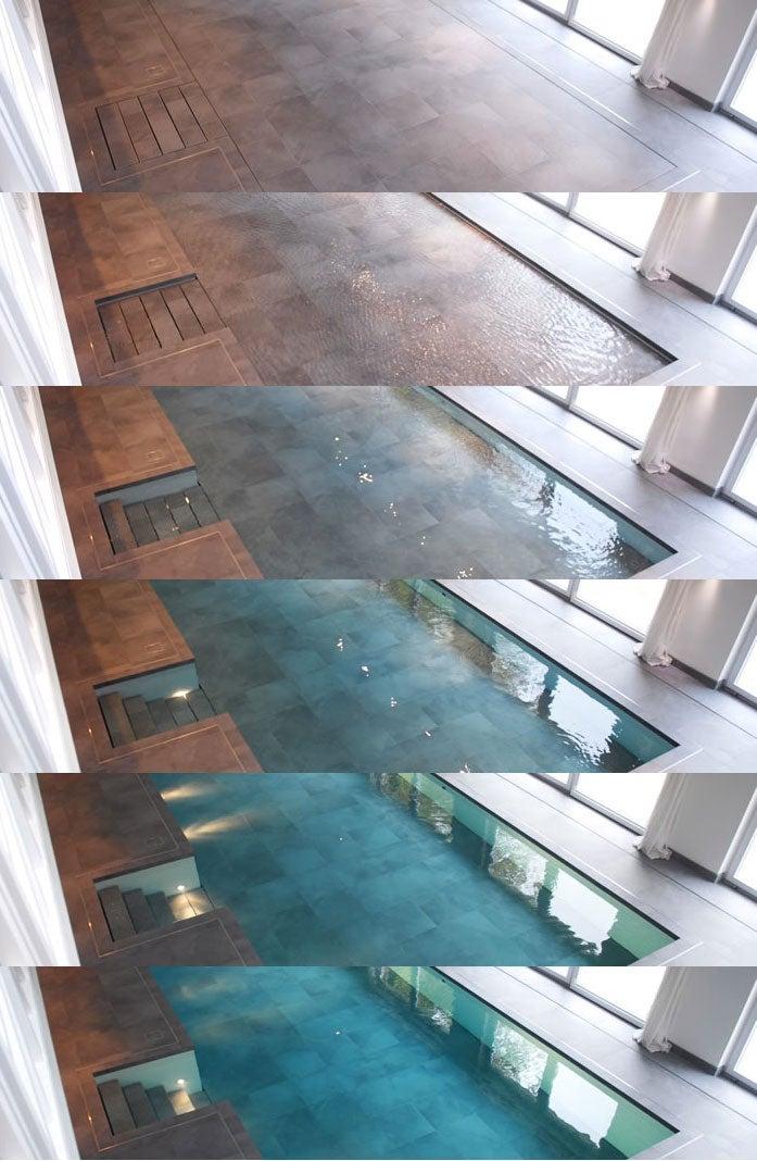 Hydrofloors 39 swimming pools belong in the x men 39 s danger room - Piscine avec sol qui remonte ...