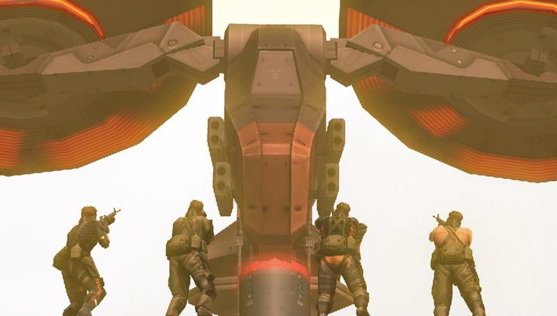 Three New Metal Gear Solid: Peace Walker Screens