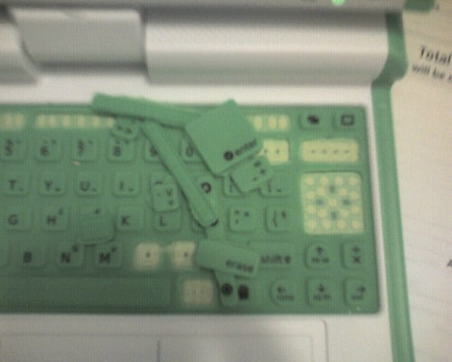 Kids Are Tearing Apart The OLPC Laptop's Keyboard Rather Easily