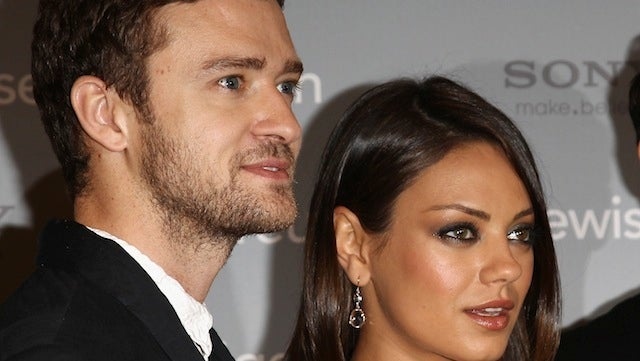 Justin Timberlake and Mila Kunis Are Not Sexting Each Other