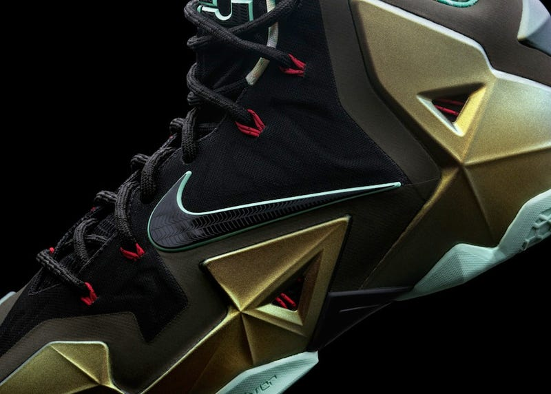 Nike Lebron 11: Shoes That Look Like Space Rock Diamonds