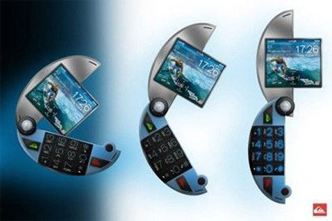 Quicksilver Mobile Phone Concept For Pac-Man Lovers