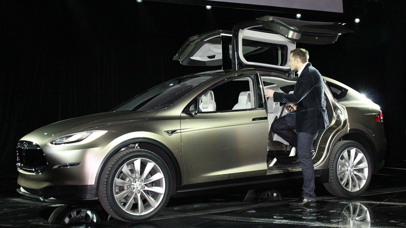Tesla model x price tops out at 100 000 for Tesla motors car price
