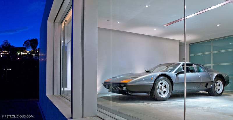This House Is A Ferrari Workspace/Garage/Gallery