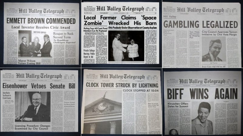 Back to the Future's Newspaper Was Pretty Terrible