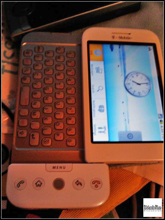 More HTC Dream Pictures Leaked