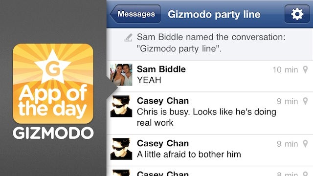 Facebook for iPhone and Android: Will This Really Kill SMS?