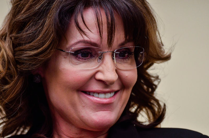 Imagine Sarah Palin in the White House