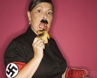 Roseanne Barr Channels Her Reincarnated Soul in Hitler Photo Spread