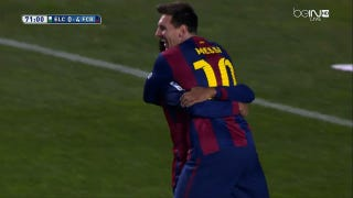 Messi-To-Neymar Is As Beautiful As Soccer Gets