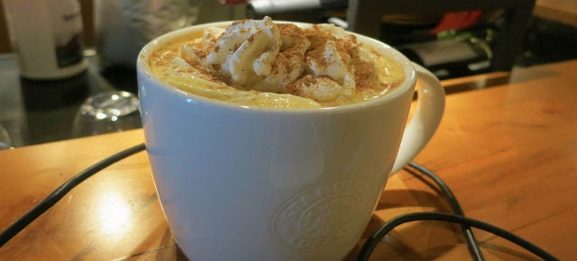 Starbucks Pumpkin Spice Lattes™ have no pumpkin in them [Updated]