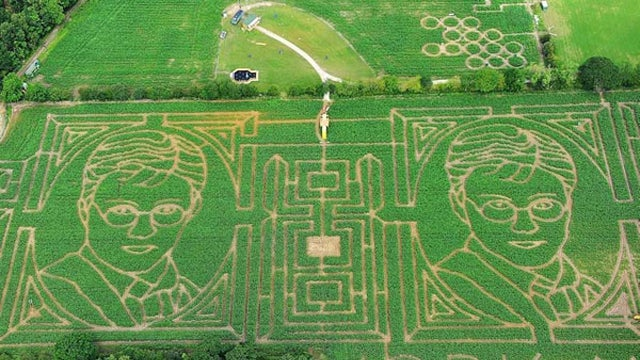 This Harry Potter Crop Circle Maze Definitely Wasn't Created By Aliens