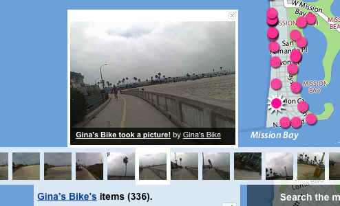 """Flickr Bikes"" Photo-Map Locales Across the Globe"