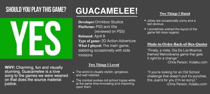 Guacamelee! : The Kotaku Review