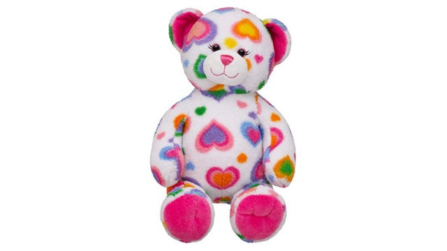'Colorful Hearts' Teddy Bear Recalled For Being Scary As Hell